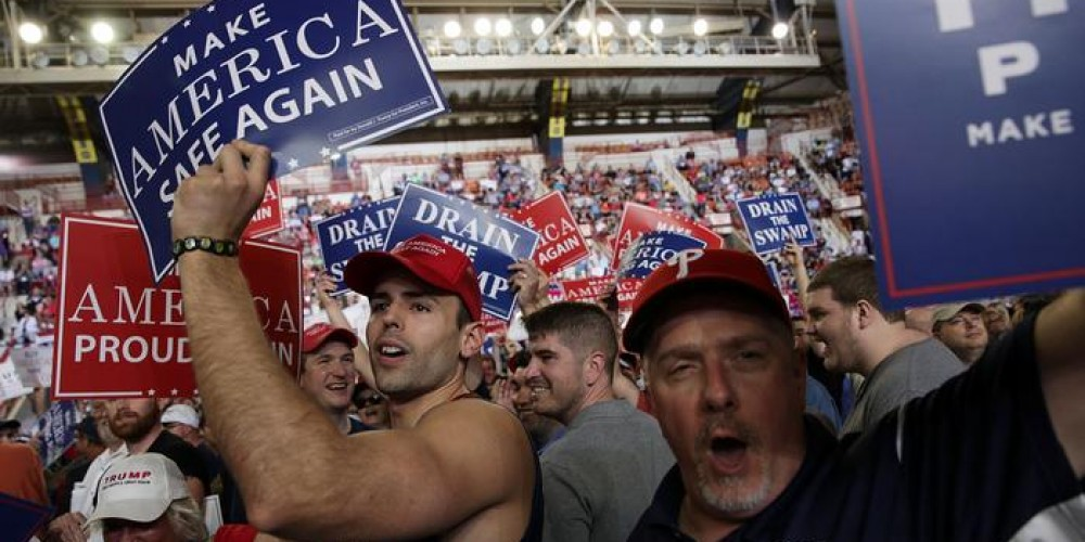 Trump'a iklim protestosu