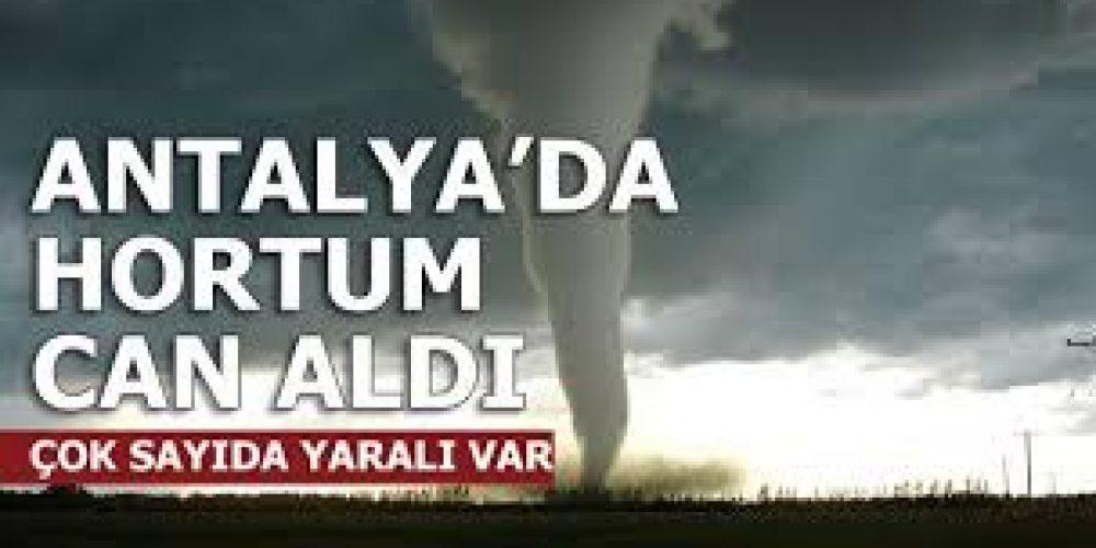 ANTALYA'YI HORTUM VURDU!