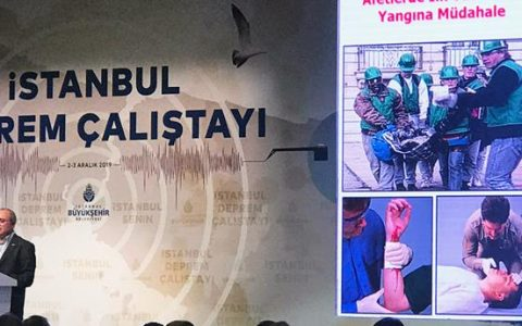 2-3  ARALIK 2019 DA İSTANBUL DEPREM ÇALIŞTAYI YAPILDI.