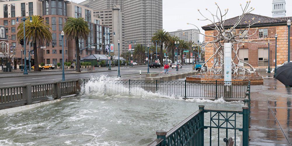 DENİZ SEVİYESİ PROJEKSİYONLARI SAN FRANCISCO'NUN UYUM PLANLAMASINA YÖN VERİYOR.