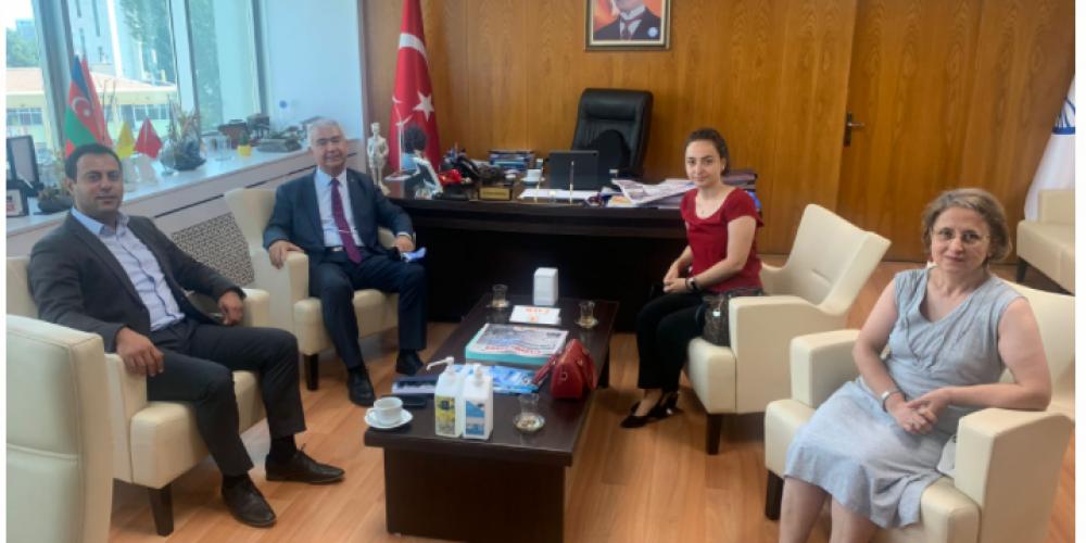 ASKİ GENEL MÜDÜR YARDIMCISI DR. BARAN BOZOĞLU'NU ZİYARET ETTİK.